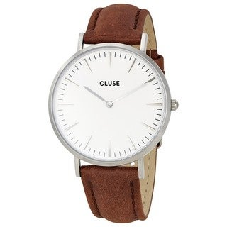 Cluse LA BOHÈME Women's CL18210 Brown Leather Watch