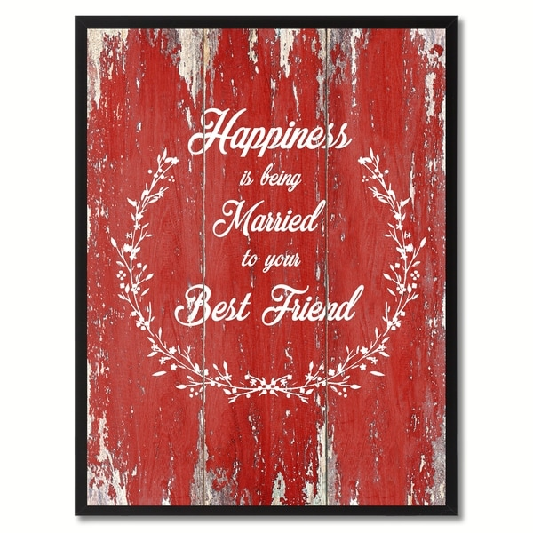 Shop Happiness Is Being Married To Your Best Friend Inspirational