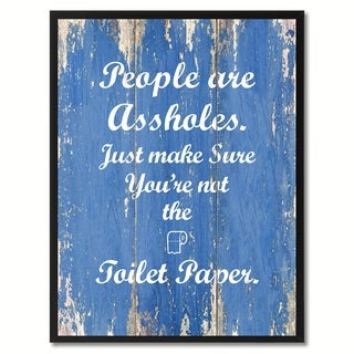 People Are Saying Canvas Print Picture Frame Home Decor Wall Art Gift Ideas