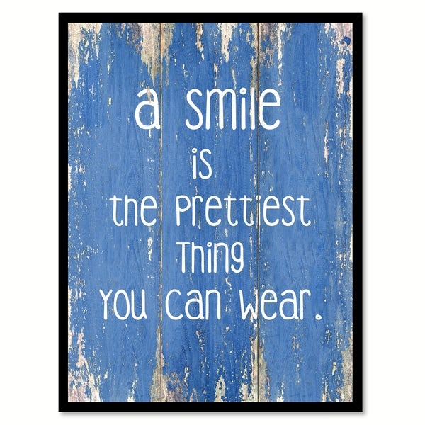 shop a smile is the prettiest thing you can wear