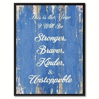 This Is The Year Motivation Saying Canvas Print Picture Frame Home Decor Wall Art Gift Ideas