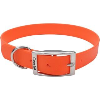 "Coastal 24"" Waterproof Dog Collar-Orange"