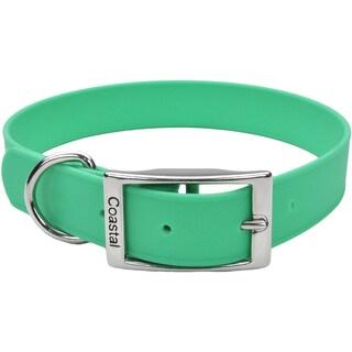 """Coastal 24"""" Waterproof Dog Collar-Green"""