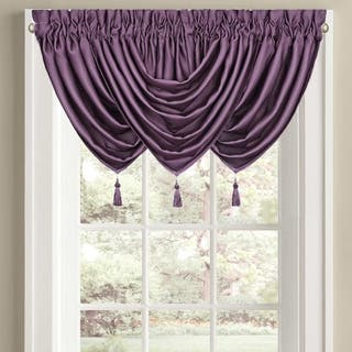 Five Queens Court Morocco Waterfall Window Valance|https://ak1.ostkcdn.com/images/products/17994216/P24166696.jpg?impolicy=medium