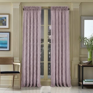 Five Queens Court Grenada Semi Sheer Curtain with Rod Pocket