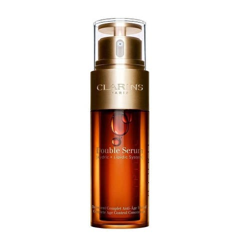 Clarins Double Serum 1.6-ounce Complete Age Control Concentrate - N/A - N/A