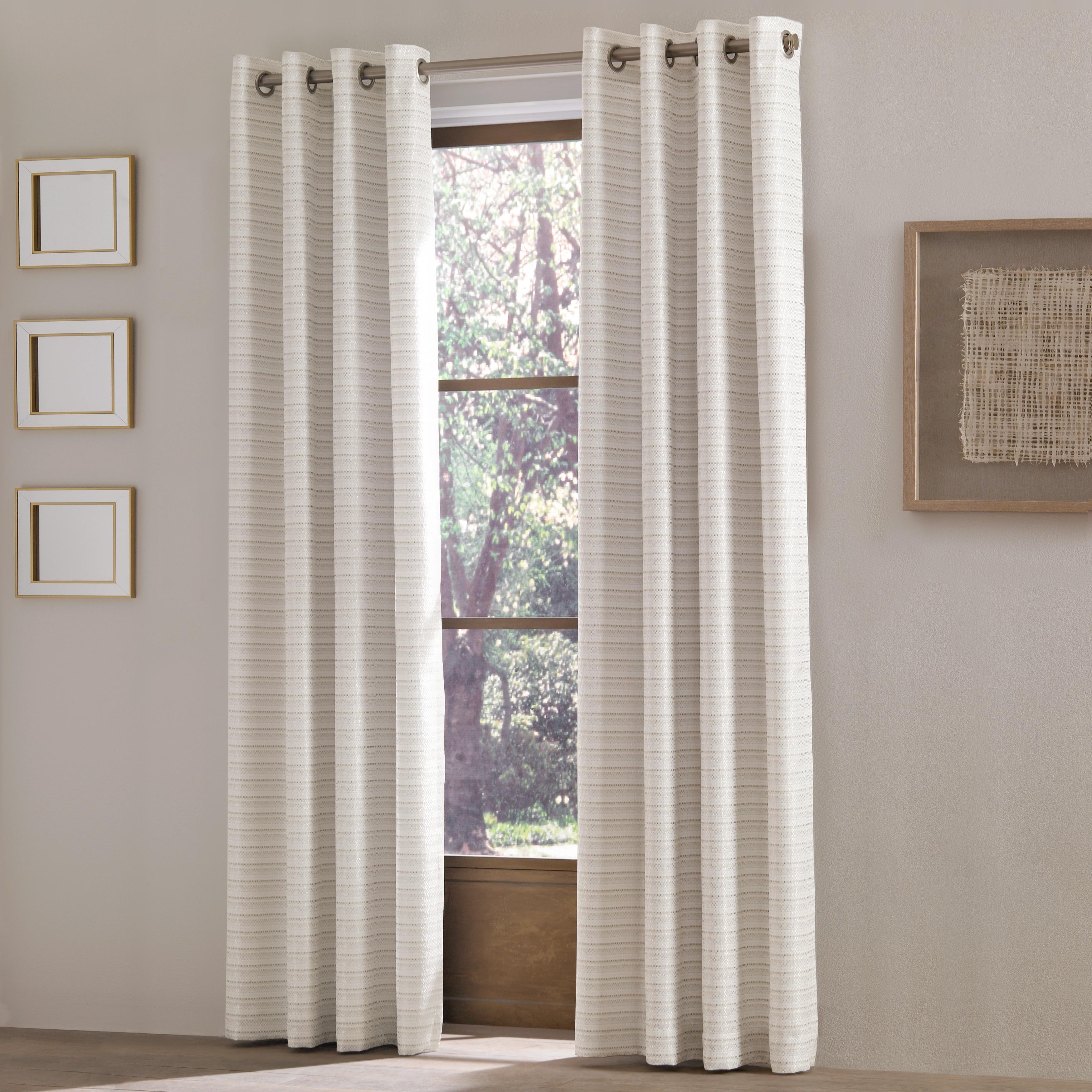 Ellie Grommet Top Single Curtain Panel