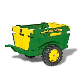 Link to John Deere Farm Trailer - Green/Yellow - Green/Yellow Similar Items in Bicycles, Ride-On Toys & Scooters