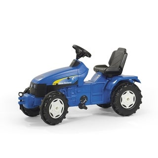 New Holland Farm Tractor - Blue