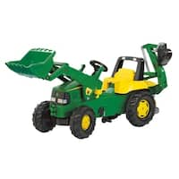John Deere Backhoe Loader - Green
