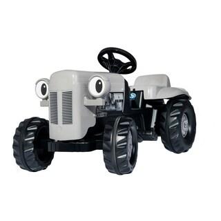 Little Grey Fergie tractor w/ Trailer