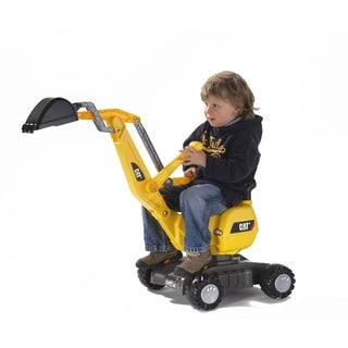 Link to CAT Black/Yellow Digger Toy - Black Similar Items in Bicycles, Ride-On Toys & Scooters