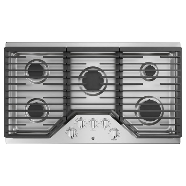 "GE 36"" Built-In Gas Cooktop"