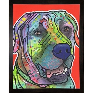 """Zeus Framed Print 19.75""""x15.5"""" by Dean Russo"""