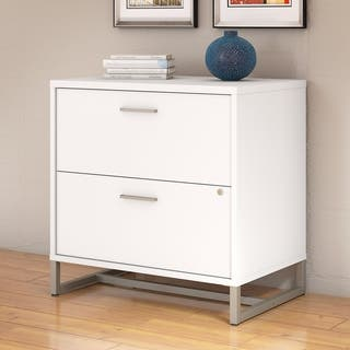 Office by Kathy Ireland White 2-drawer Lateral File Cabinet|https://ak1.ostkcdn.com/images/products/17994582/P24167219.jpg?impolicy=medium