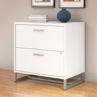 Office by Kathy Ireland White 2-drawer Lateral File Cabinet