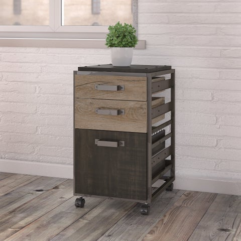 Pine Canopy Jasmine 3-drawer Mobile File Cabinet