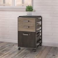 Pine Canopy Jasmine 3-drawer Mobile File Cabinet