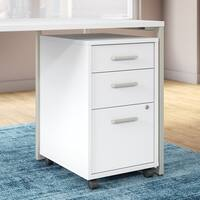 Office by kathy ireland® Method 3 Drawer Mobile File Cabinet - Assembled