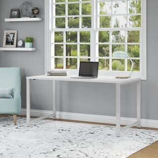 Bush Business Furniture 400 Series 60W x 30D Table Desk in White