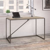 Refinery 50W Industrial Desk in Rustic Gray