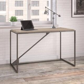 Refinery 50W Industrial Desk in Rustic Gray