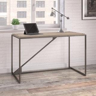 Carbon Loft Industrial Desk in Rustic Grey