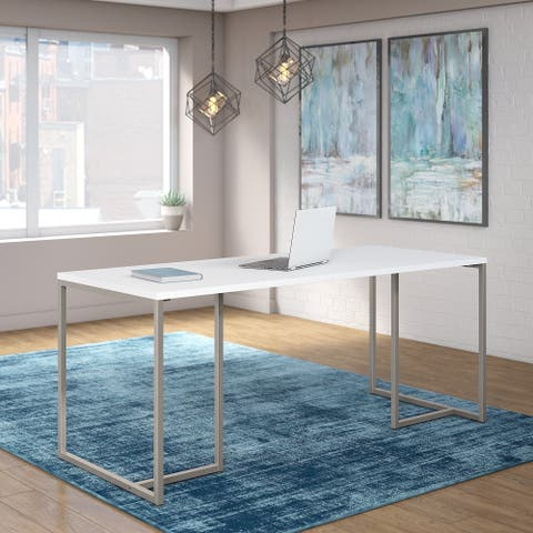 Method 72W Table Desk in White from Office by kathy ireland®
