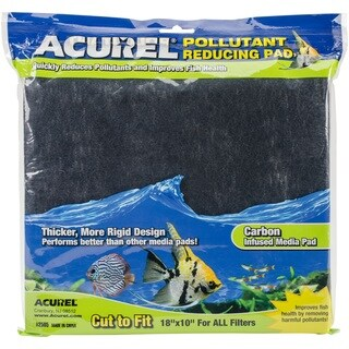 "Acurel Pollutant Reducing Media Pad 18""X10""-Carbon"