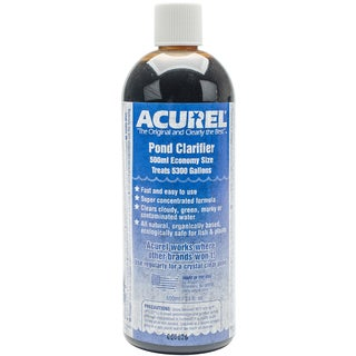 Acurel E Pond Clarifier 500ml-Treats 5,300 Gallons