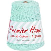Home Cotton Yarn - Solid Cone-Pastel Blue