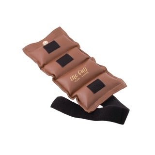 The Cuff® Deluxe Ankle and Wrist Weight - 10 lb - Brown