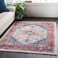 Classic Vintage Oriental Light Red Area Rug - 2' X 3'