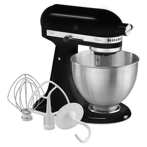 KitchenAid Onyx Black 4.5-Quart Classic Series Stand Mixer