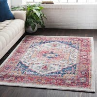 Classic Vintage Oriental Light Red Runner Rug (3' x 7'10)