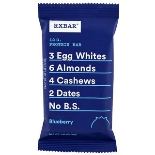 RXBar Blueberry Protein Bars (Pack of 12)