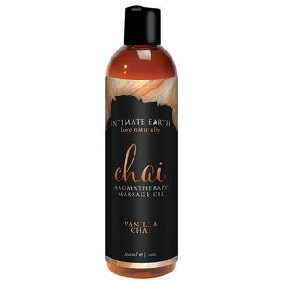 Intimate Earth Vanilla Chai Aromatherapy Massage Oil (2 options available)