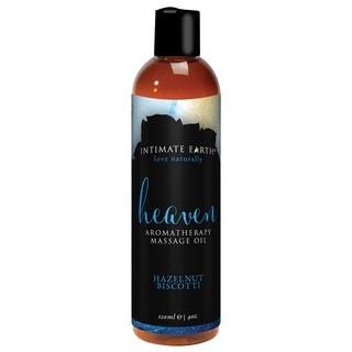 Intimate Earth Heaven Hazelnut Biscotti Massage Oil