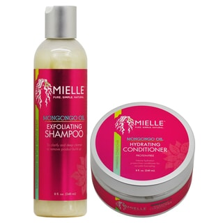 Mielle Organics Mongongo Oil 8-ounce Shampoo & Conditioner Duo