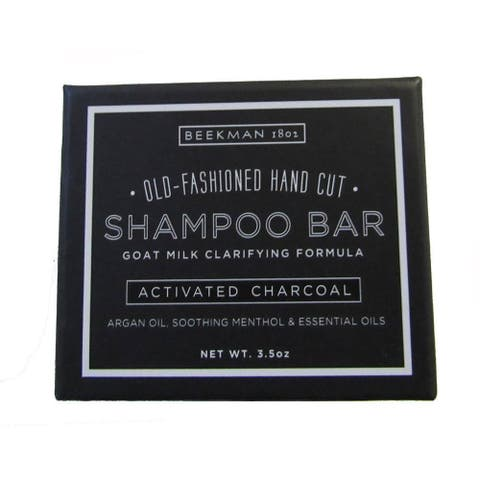 Beekman 1802 3.5-ounce Activated Charcoal Shampoo Bar