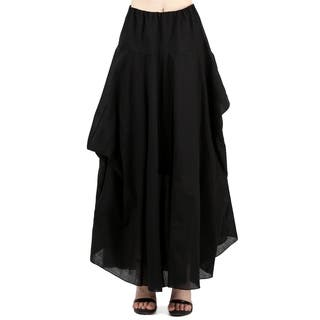 Evanese Women A Line Full Maxi Long Adjustable Pick Up Bubble Skirt|https://ak1.ostkcdn.com/images/products/17995534/P24168010.jpg?impolicy=medium