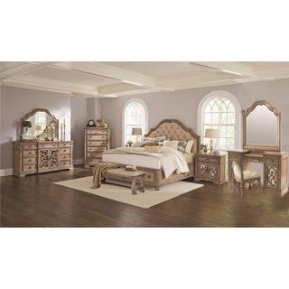 Westchester 10PC Storage Bedroom Set With 2 Door Nightstand
