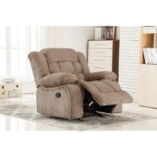 Best Quality Furniture Velvet Glider Recliner Chair