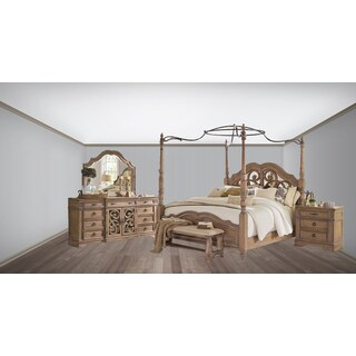 Westchester 4PC Canopy Poster Bedroom Set