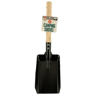 Camping Shovel with Wood Handle