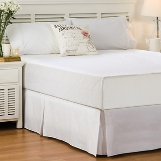 Today's Home Basic Pleated Easy-Fit Microfiber Bed Skirt