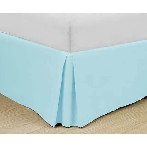 Copper Grove Pomquet Basic Pleated Easy-fit Microfiber 14-inch Drop Bedskirt