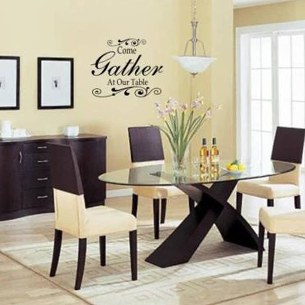 Come Gather At Our Table Wall Art Decal Decor Kitchen Dining Room Home Wall  Vinyl