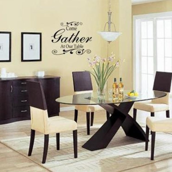 Shop Come Gather At Our Table Wall Art Decal Decor Kitchen