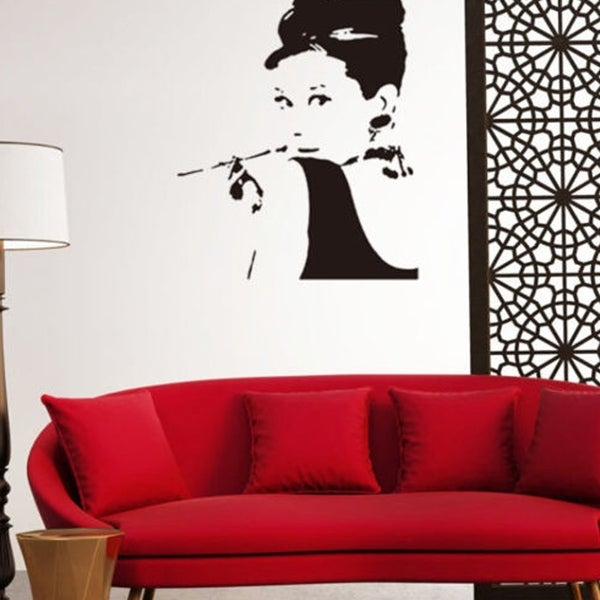 Shop Removable Wall Decal Home Decor Audrey Hepburn